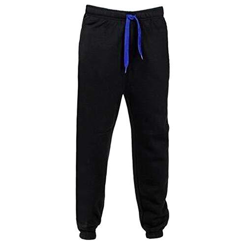 jieGorge Pantalones de Hombre, Bolsillos Casuales de Gimnasio para Hombre, Jogging, Deportivos,...