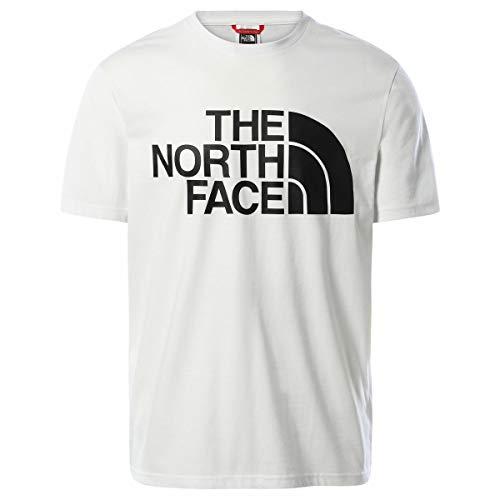 The North Face Camiseta para Hombre estándar SS tee Blanco XXL