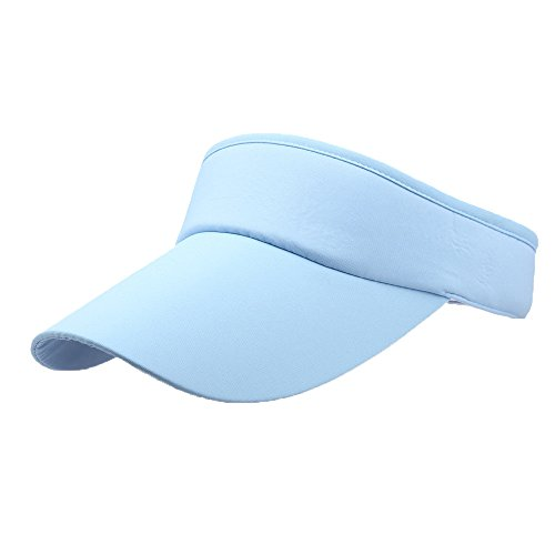 NLGToy Sun Sports Visor Men Women - Sport Headband Classic Sun Sports Visor Hat Cap Adjustable Cap,Best for Outdoor Sports Camping Hiking,Running, Tennis, Golf & All Sports (H)