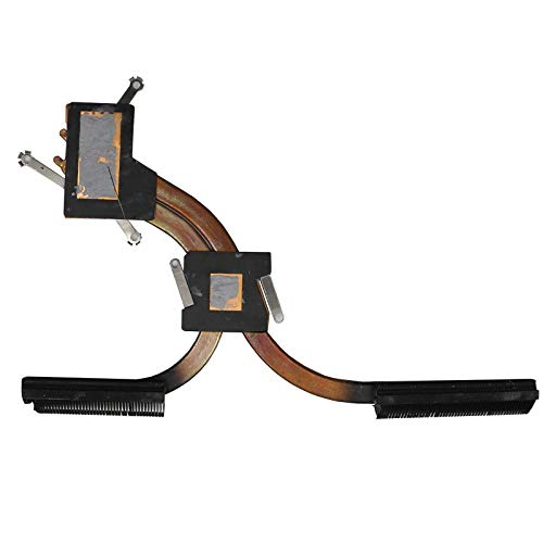 RTDpart Disipador de Calor para Ordenador portátil para Lenovo Ideapad Yoga 710-15ISK Yoga 710-15IKB 710-15 5H40L47298 AT1JI0010F0 80U0 DIS Nuevo