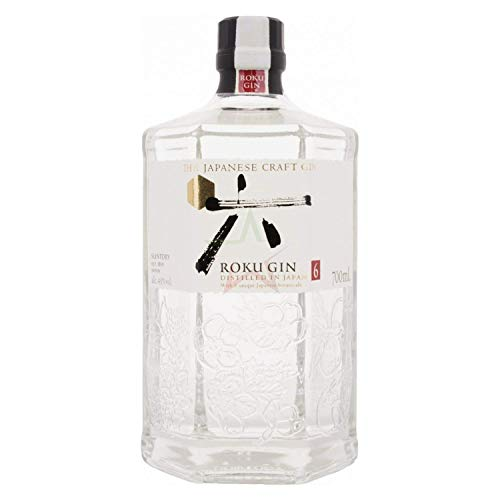 Roku Gin The Japanese Craft Gin 43,00% 0,70 Liter