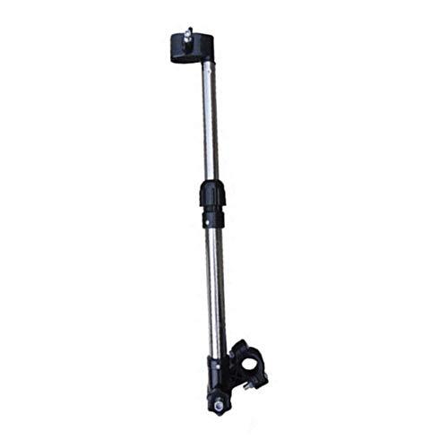 kaakaeu Mehrzweck- und Verstellbarer Fahrradschirmhalter Universal für Mountainbikes, Motorrad, Baby Auto, Rollstuhl-Ständer, Mehrfarbig