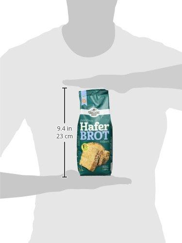 Bauckhof Haferbrot glutenfrei, 3er Pack (3 x 500 g) – Bio - 5