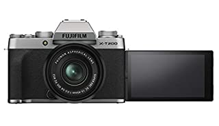Fujifilm X-T200 Mirrorless Digital Fujifilm X-T200 Mirrorless Digital Camera with 15-45mm Lens, Silver (16647111) (B08444VKGN) | Amazon price tracker / tracking, Amazon price history charts, Amazon price watches, Amazon price drop alerts