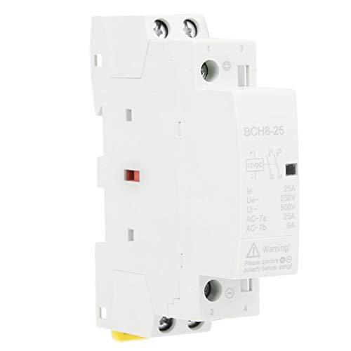 BCH8-25 2NO DC Contactor DC Interruptor de contactor modular para Smart Home Hotel Sistema de control inteligente(DC 24V)