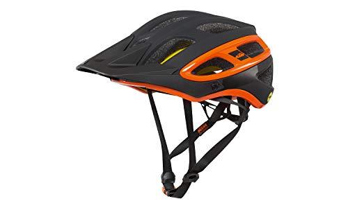 KTM fahrradhelm Factory Enduro X MIPS FIDLOCK Schwarz matt/Orange glanzend. Bitte Grosse Auswahlen. (54-58)