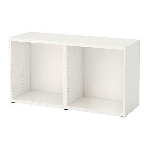 IKEA BESTA Korpus in weiß; (120x40x64cm)