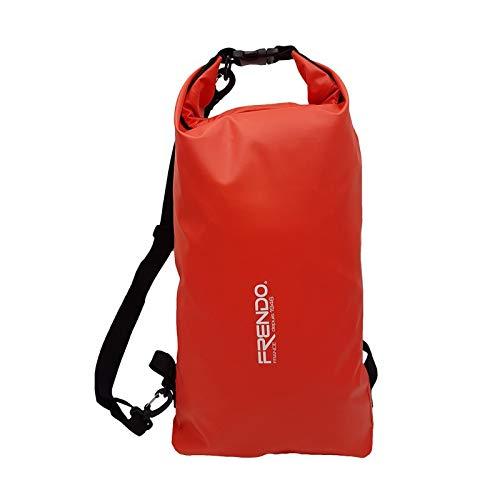 FRENDO Splash - Zaino Impermeabile, 15 L, Rosso