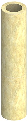 Isolierschale für einwandige EW Schornsteine, Isolierstärke 25mm, für Ø 120mm Innendurchmesser; 1000mm Länge, kürzbar, Edelstahl