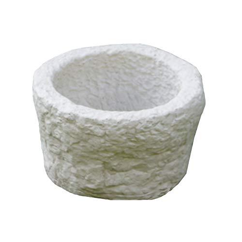 Bonfante Vaso in Pietra RICOSTRUITA Nevada Grigio-Bianco