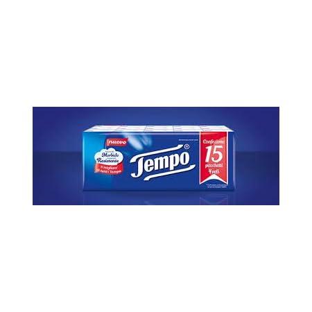 Tempo – Taco de pañuelos–4paquetes de 15unidades [60unidades]