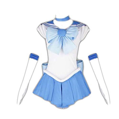 Sailor Moon Sailor Mercury Amy Mizuno Cosplay Costume 1st Ver Fighting Medium