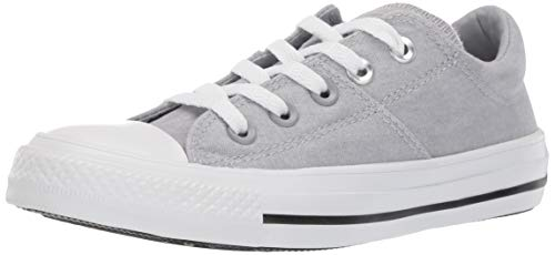Converse Women's Chuck Taylor All Star Madison Low Top Sneaker, Wolf Grey/White/White, 7 M US