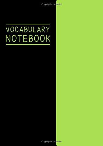 Vocabulary Notebook: Language Study Vocabulary Word Book : Language...