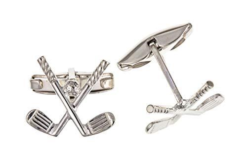 Sterling Silver Golf Club Cufflinks