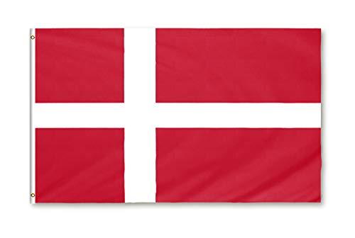 Star Cluster 90 x 150 cm Flagge Dänemarks/Dänemark Fahne/Flag for Danmark/Flag of Denmark (DK 90 x 150 cm)
