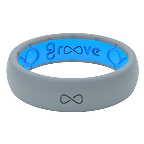 GROOVE LIFE - Silicone Ring For Men and Women...