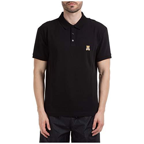 Moschino Herren Poloshirt Teddy Nero 48 EU