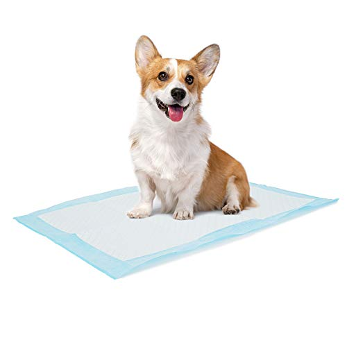 """Bolux Dog and Puppy Training Pads, 13""""×18"""" Disposable Dog Pee Pads, Ultra Absorbent & Leak-Proof Pet Underpads, Dry Quickly Pee Pad for Dog Cats Rabbits or Other House Training Pets (100/Counts)"""