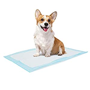 Bolux Dog and Puppy Training Pads, Disposable Dog Pee Pads, Ultra Absorbent & Leak-Proof Pet Underpads, Dry Quickly Pee Pad for Dogs Cats Rabbits or Other House Training Pets