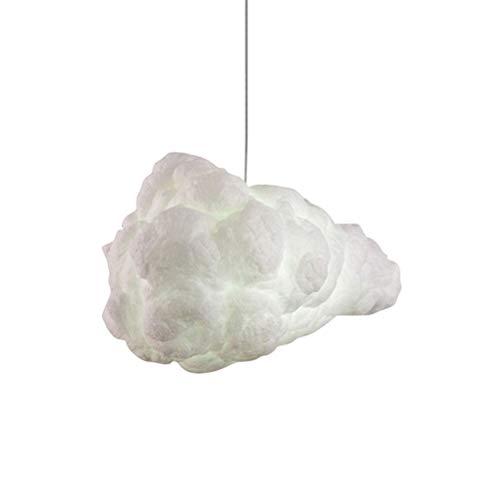Uonlytech Forma de Nube Creativa lámpara de Techo led luz de Techo Decorativa Tela de Moda para Restaurante en casa Bar cafetería