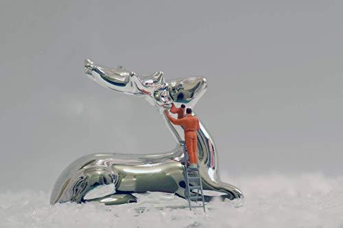Coole schöne fröhliche Postkarte meiner Foto-Kunst - zum Verschicken und Verschenken von Fotografin aus Berlin - Weihnachtskarte | Weihnachtsvorbereitungen | Schmücken | Weihnachten | Weihnachtsputz
