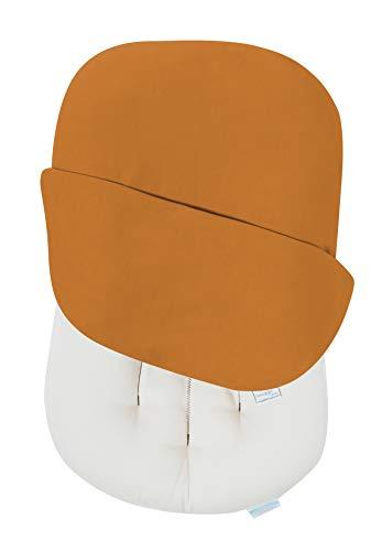 Snuggle Me Organic | Baby Lounger & Infant Floor Seat | Newborn Essentials | Organic Cotton, Fiberfill | Ember