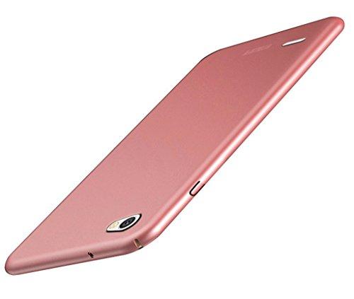 BCIT Funda LG Q6 LG Q6 Carcasa [Ultra-Delgado] [Ligera] Anti-rasguños Estuche para LG Q6 - Rose Oro