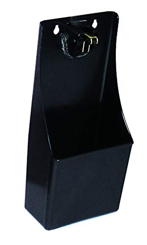 Pub Bar Stand-Up/Wall Mounted Bottle Opener and Catcher, Plastic, Black, 29.5 x 12.5 x 12 cm  Chabrias Ltd