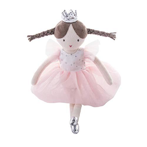 NUOBESTY Bailarina de Peluche muñeca Ballet Vestido niña muñeca Encantadora Regalo de cumpleaños Juguete para bebé niños niñas niños