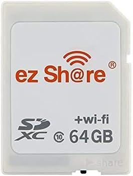 64GB ez Share Card Adater WiFi SD Memory Card WiFi SDHC Class10 SD Card Wireless Camera Memory Card for Camera