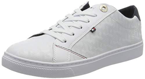 Tommy Hilfiger Damen Venus 29a Sneaker, Beige (White Ybs), 41 EU