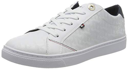 Tommy Hilfiger Damen Venus 29a Sneaker, Beige (White Ybs), 40 EU