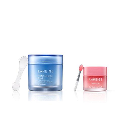 Laneige - Mascarilla de agua de noche + mascarilla labial de noche