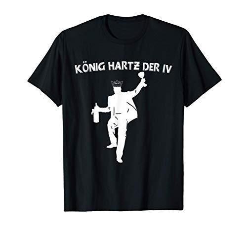 Bier Trinken Kaltschale König Hartz Biertrinker Geschenk T-Shirt