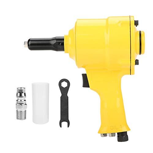 Remachadora neumática de 1 4 , pistola profesional de remachado con empuñadura de pistola de 2,4 3,2 4,0 4,8 mm, herramienta de remachado neumática profesional para mejora del hogar
