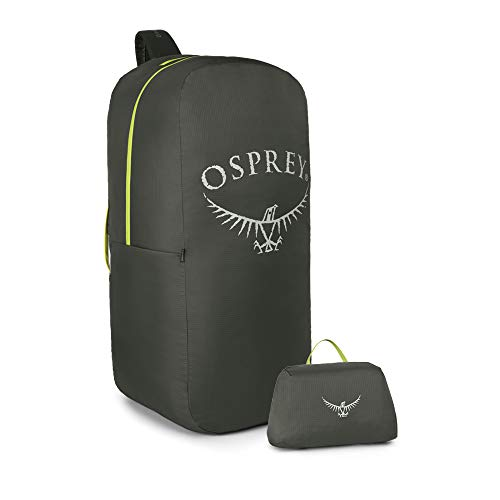 Osprey Adult Airporter LZ Backpack Travel Cover, Shadow Grey, Medium