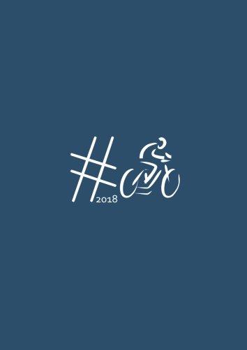dicker TageBuch Kalender 2018 #Biken: Endlich genug Platz für dein Leben! 365 Tage = 365 A4-Seiten