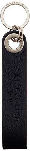 Liebeskind Berlin Keyring Schlüsselanhänger, onesize (13 cm x 0.5 cm x 2.6cm), black
