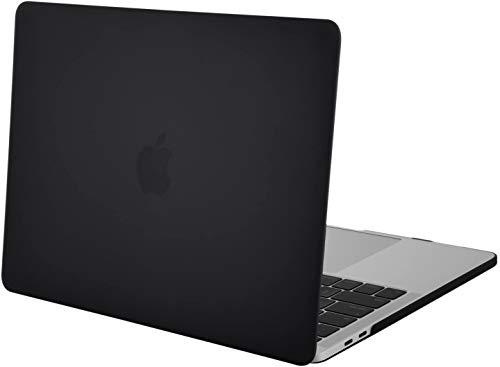SHINEZONE MacBook Air 13 専用 ケース 超薄型 PC 保護ハードケース つや消し 軽量 マックブックエア MacBook Air 13 シェルカバー 擦り傷防止 着脱簡単(ブラック)