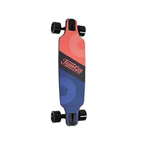 Skate Elétrico Teamgee H8 78,74 cm com Placas Longas Remotas Projetado para Adolescentes e Meninas, 18PMH Alta Velocidade, Hub Motors 480W, 15KM Alcance, 2 Modos de Velocidade