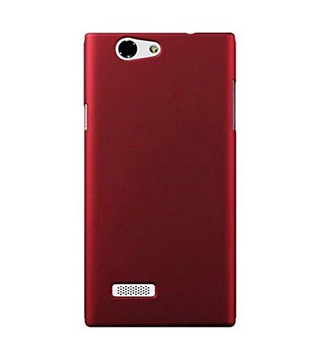 Prevoa ® 丨 ZTE Blade L2 Funda - Plastic Funda Cover Case para ZTE Blade L2 5.0 Pulgadas Android Smartphone - Rojo