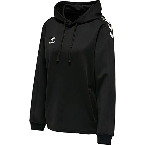 Hummel Damen Hmlcore Xk Poly Sweat Hoodie Woman Sweatshirt, Schwarz (BLACK), XS