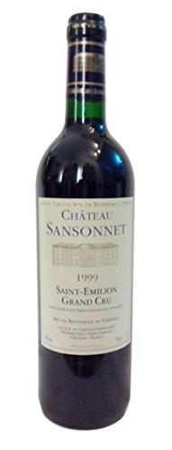 1999 Saint-Emillon Grand Cru - Château Sansonnet - Vin Rouge