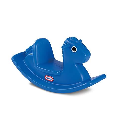 little tikes 427900072 Cheval à Bascule Bleu