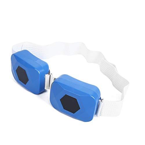 Cinturón Adelgazante eléctrico, Azul USB Protable Cinturón tonificación Muscular Abdominal Cinturón estimulación...