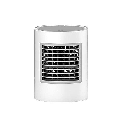 Aire Acondicionado Portatil Enfriadores evaporativos Froles de aire USB Air Acondicionador de aire personal, Fugas Mini Desktop Air Cooler / Humidificador / Purificador, Velocidades para el automóvil