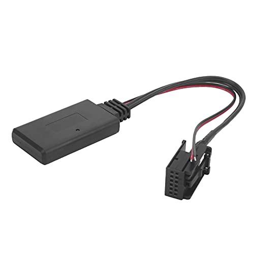 Adattatore per Cavo AUX per Auto, Adattatore Audio Cavo Ausiliario Stereo CD 12Pin Host Connettore Audio per Auto Bluetooth Plug And Play Sostituzione ABS per Agila/Antara/Astra/Combo