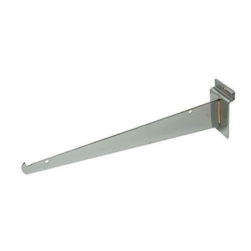 Only Hangers Shelf Brackets for Slatwall, 12