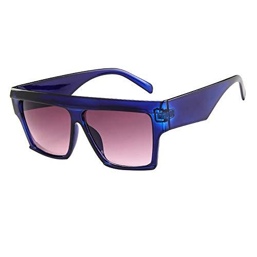 Battnot Sonnenbrille für Damen Herren, Oversized Übergroße Rahmen Unisex Vintage Mode Anti-UV Gläser Sonnenbrillen Schutzbrillen Männer Frauen Retro Billig Sunglasses Women Eyewear Eyeglasses